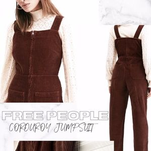 FREE PEOPLE CORDUROY JUMPSUIT